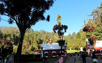Nilgiri mountains-City mall in Ooty