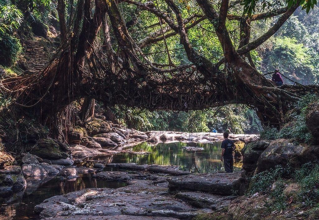Beautiful-Offbeat-Places-in-India-Mawlynnong,-Meghalaya