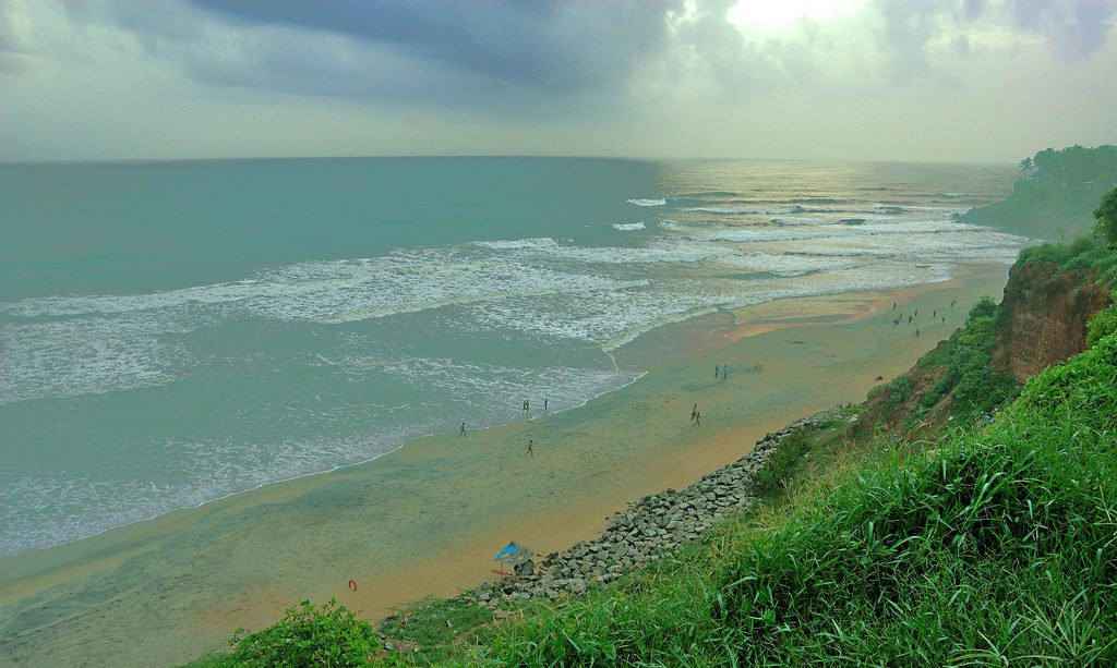 Beautiful-Offbeat-Places-in-India-Varkala,-Kerala