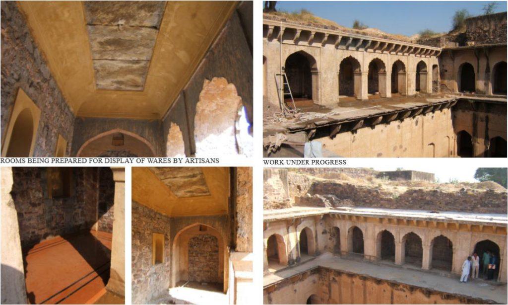 Crafts'-Haat-at-Neemrana-Fort-Palace