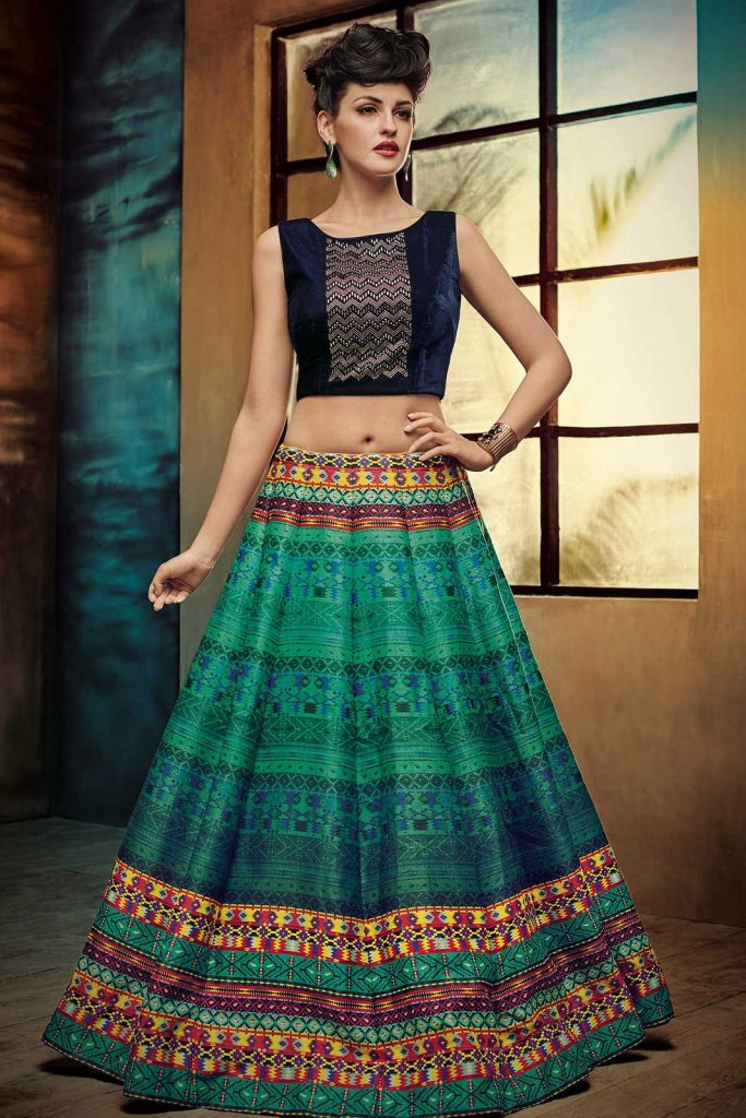 Top-Three-Traditional-Indian-Clothing-Lehenga-Choli