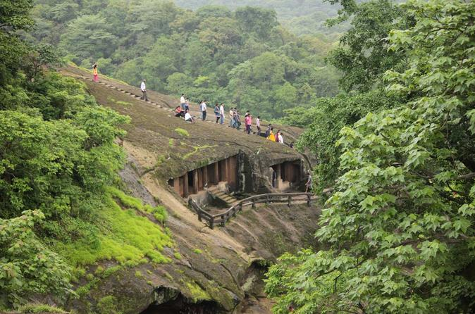 Witness the Marvel of Buddhist Inscriptions at Kanheri Caves, Mumbai
