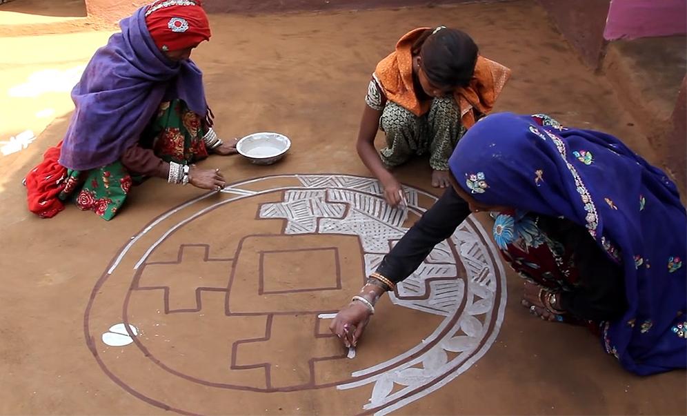 Indian-Folk-Art---Mandana-Paintings-00