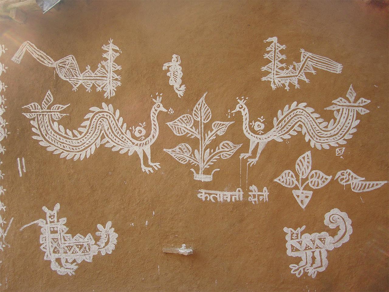 Indian Folk Art Mandana The Doomed Tradition Needs To Be