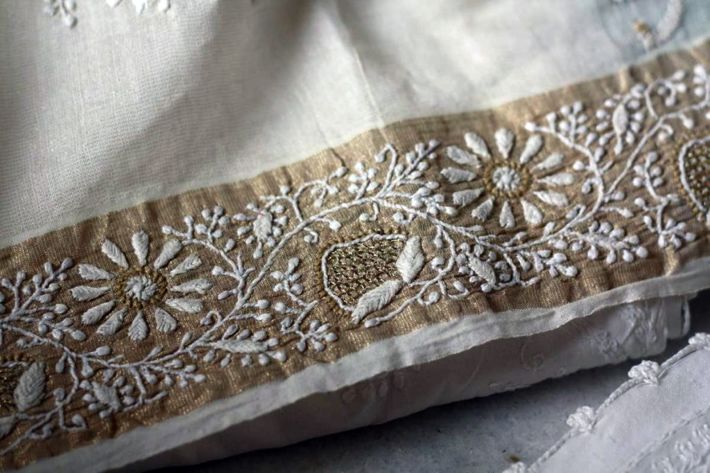Fabric-Arts-of-India-Chikankari