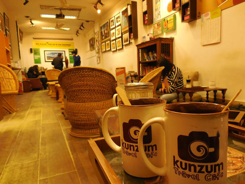 Kunzum Café, Delhi