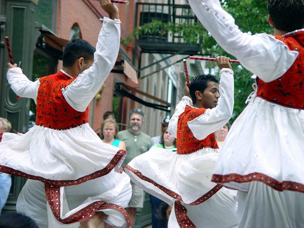 Gujarati Traditional Dance Dandiya