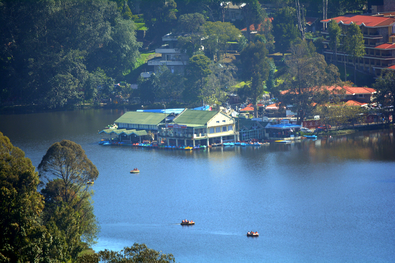 Kodai's lake