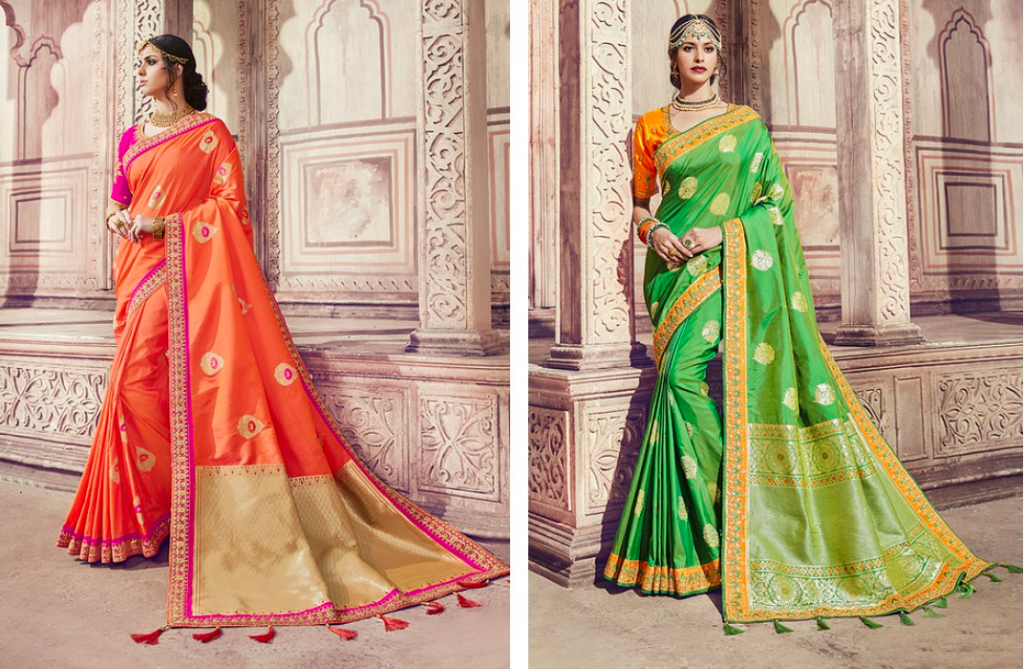 Banarasi saree designs