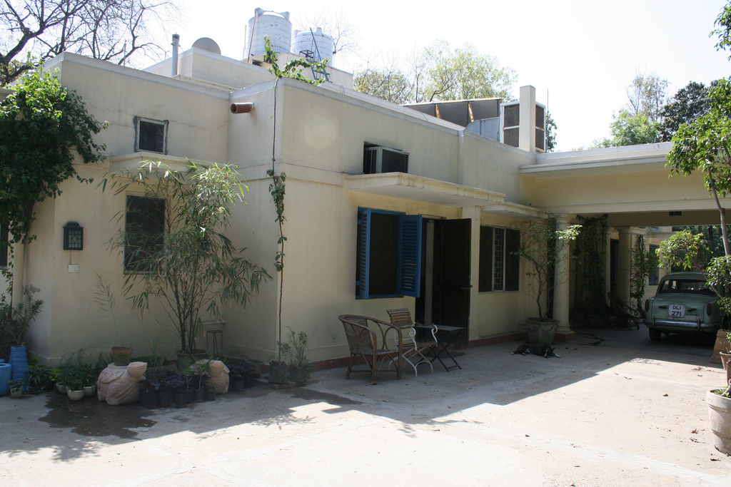 British-Colonial-Architecture-in-India Lutyens Bungalow New Delhi