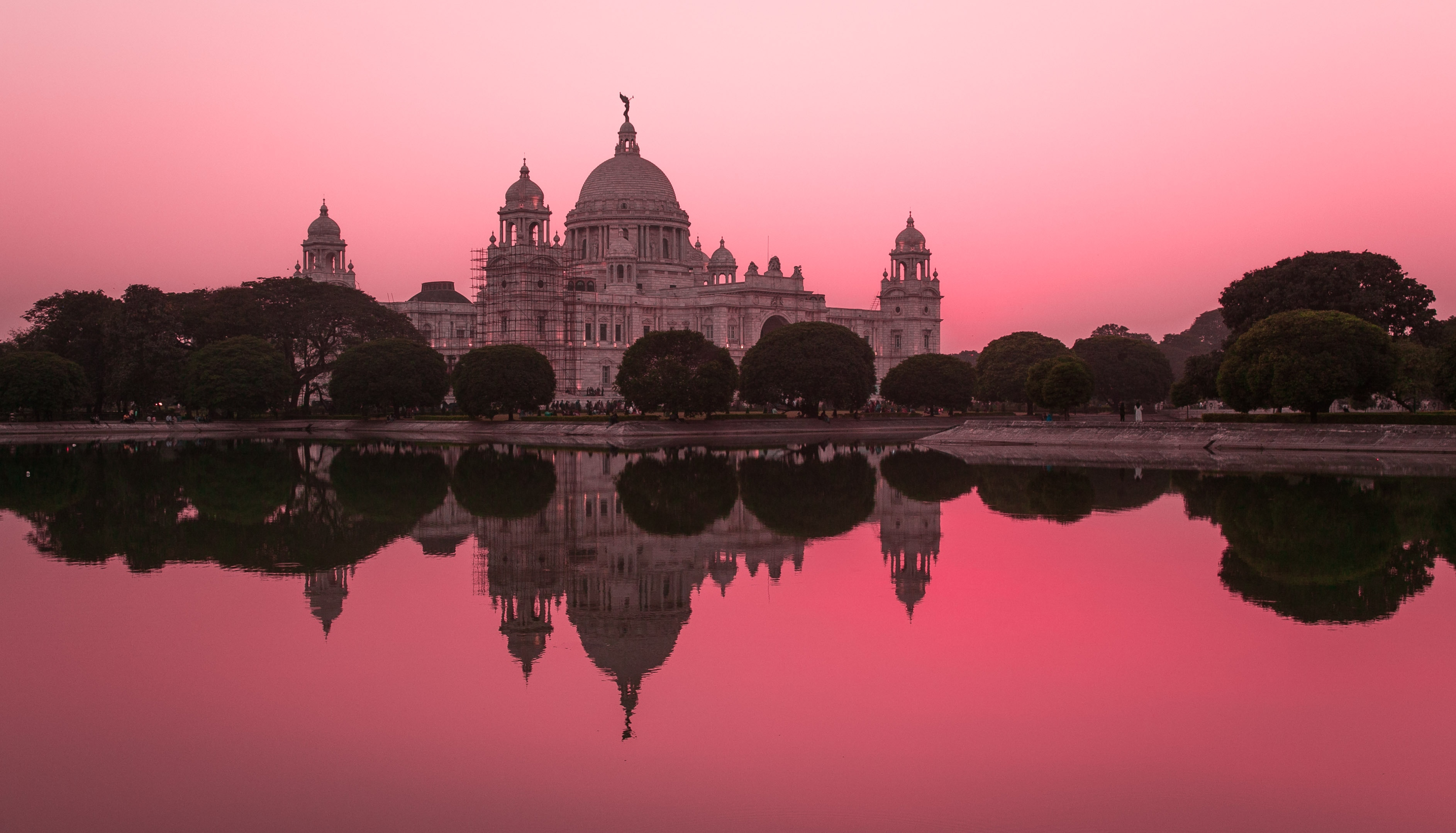 British-Colonial-Architecture-in-India-Victoria Memorial Kolkata