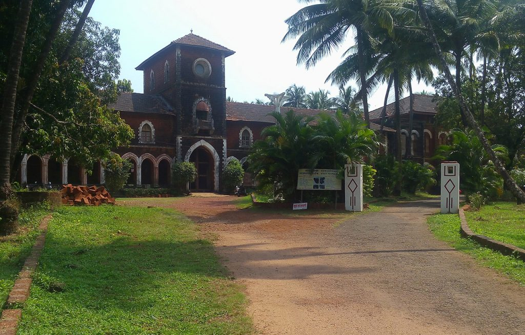 The Royal Palace of Sawantwadi