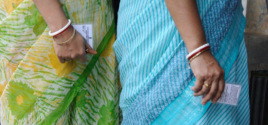 Indian women voters