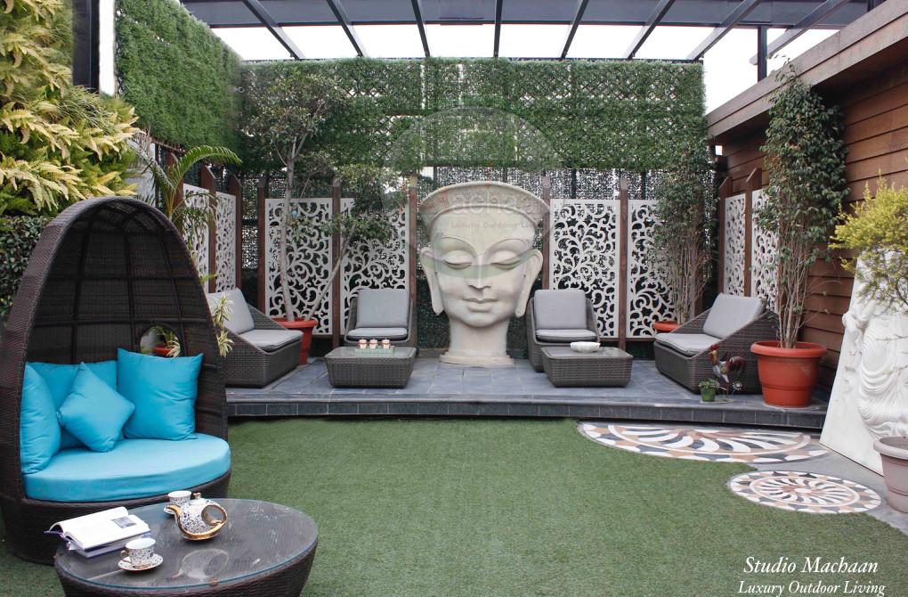 Studio Machaan - Terrace Garden Designers