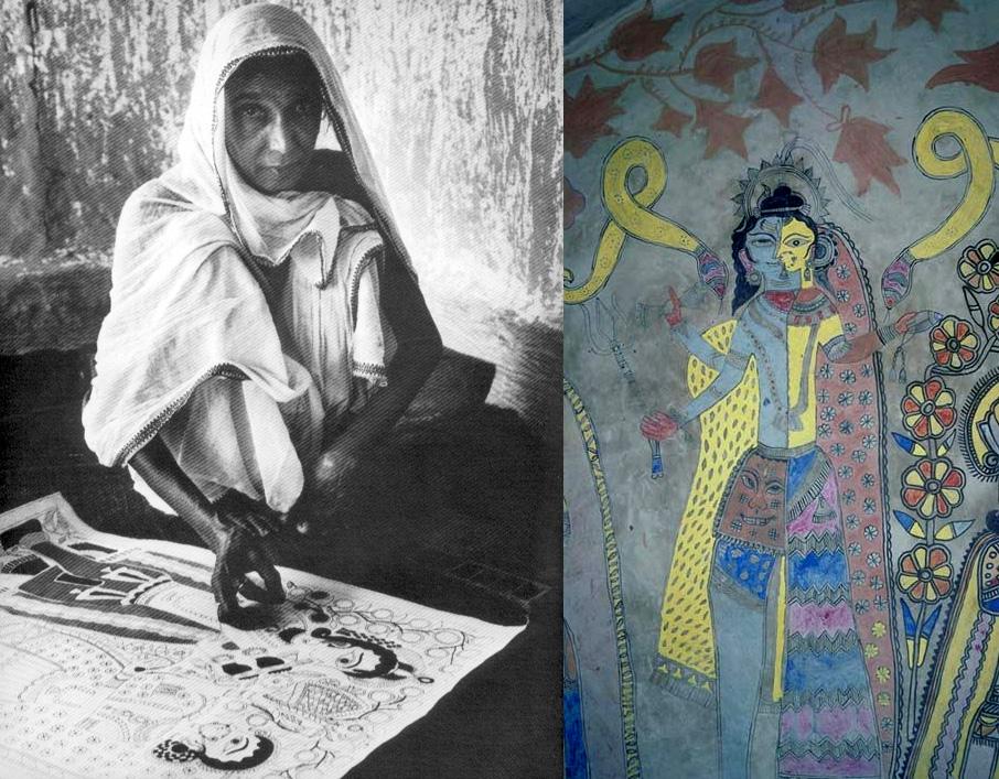 Sita Devi Madhubani Painting Artist
