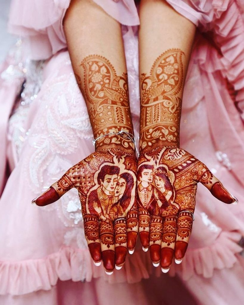 Bridal Mehndi Patterns