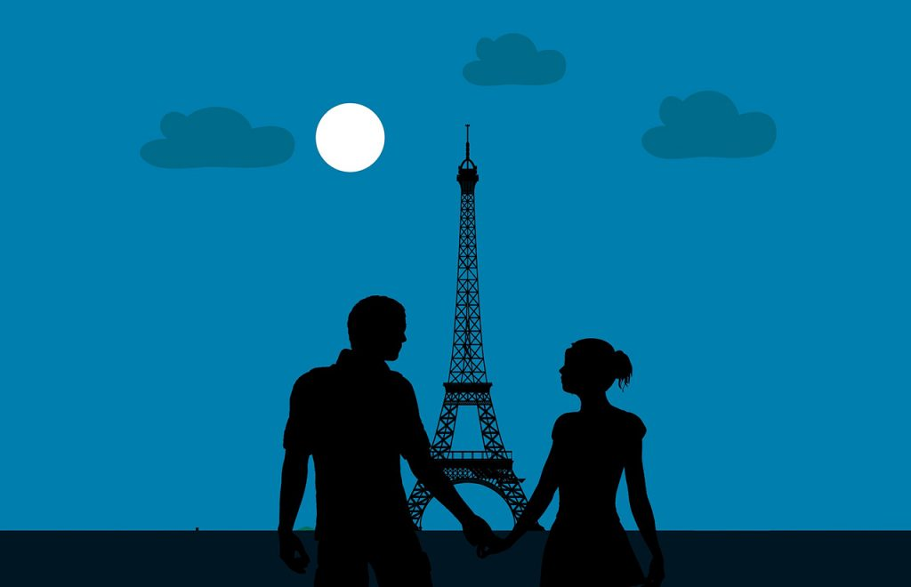 Couples Visiting Paris for a Weekend