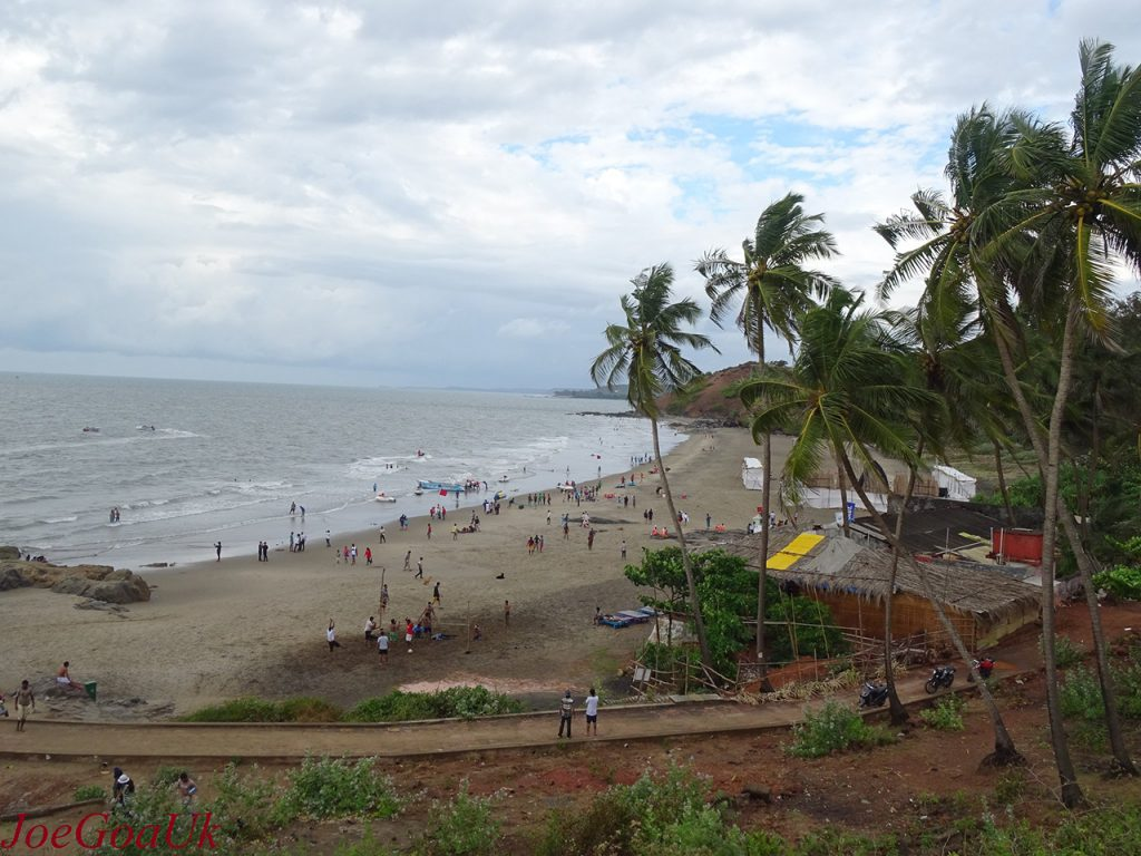 Goa Tourism Guide - Vagator beach