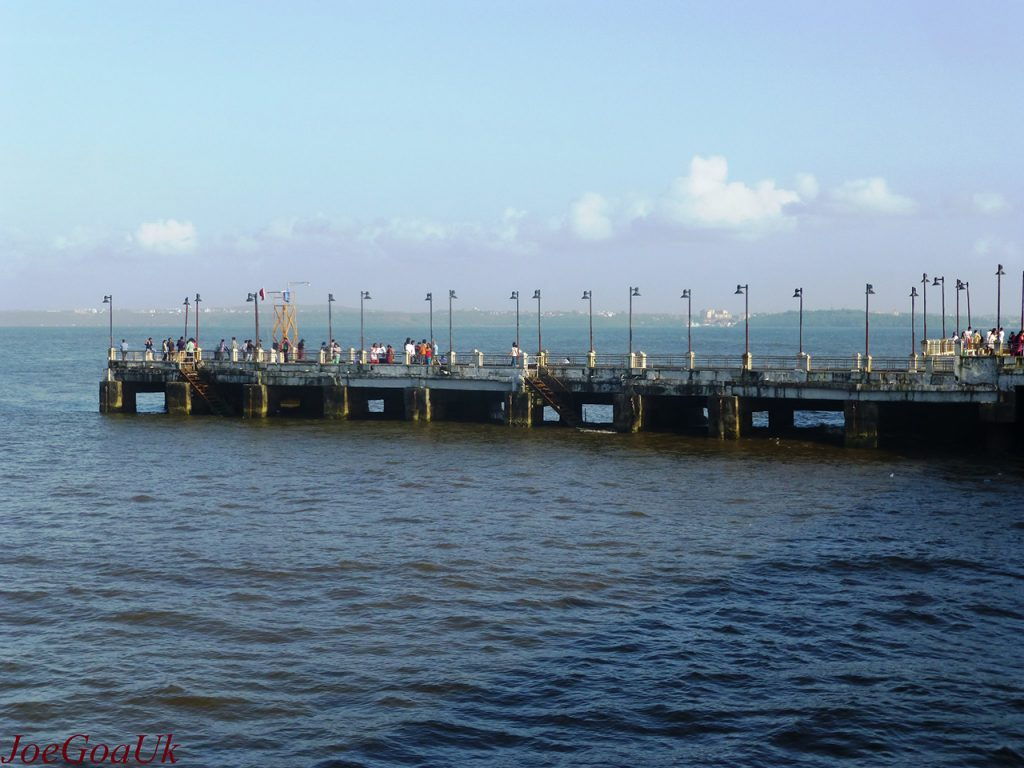 Goa Tourism Guide Dona Paula Jetty