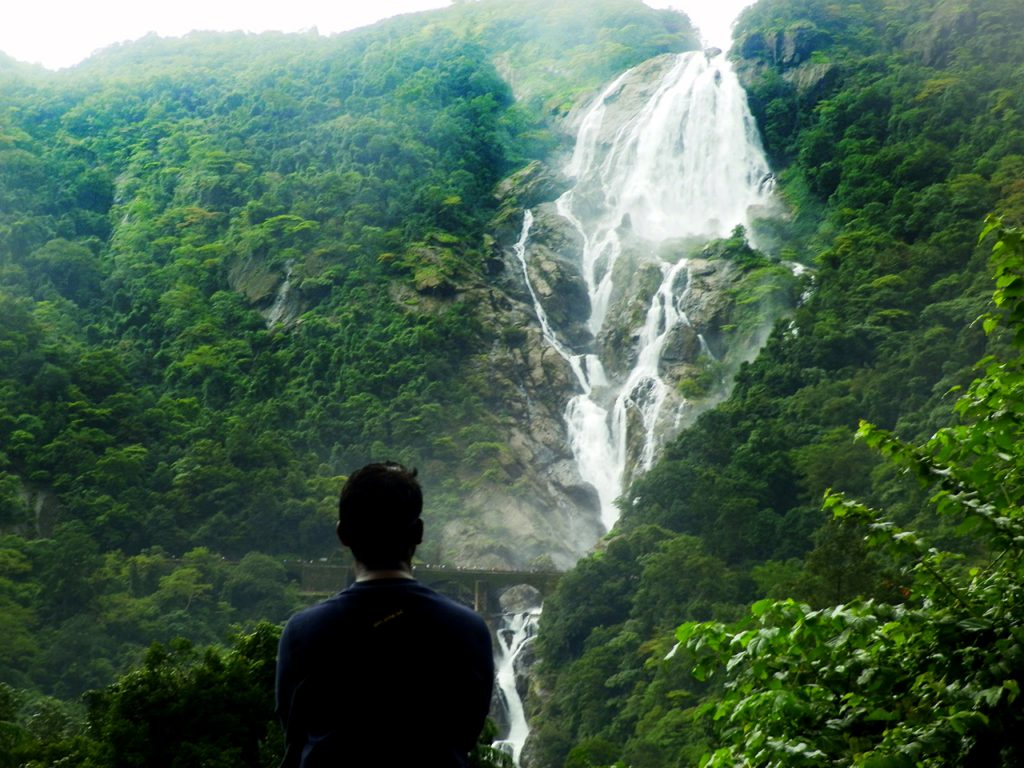 Goa Tourism Guide Dudhsagar waterfalls