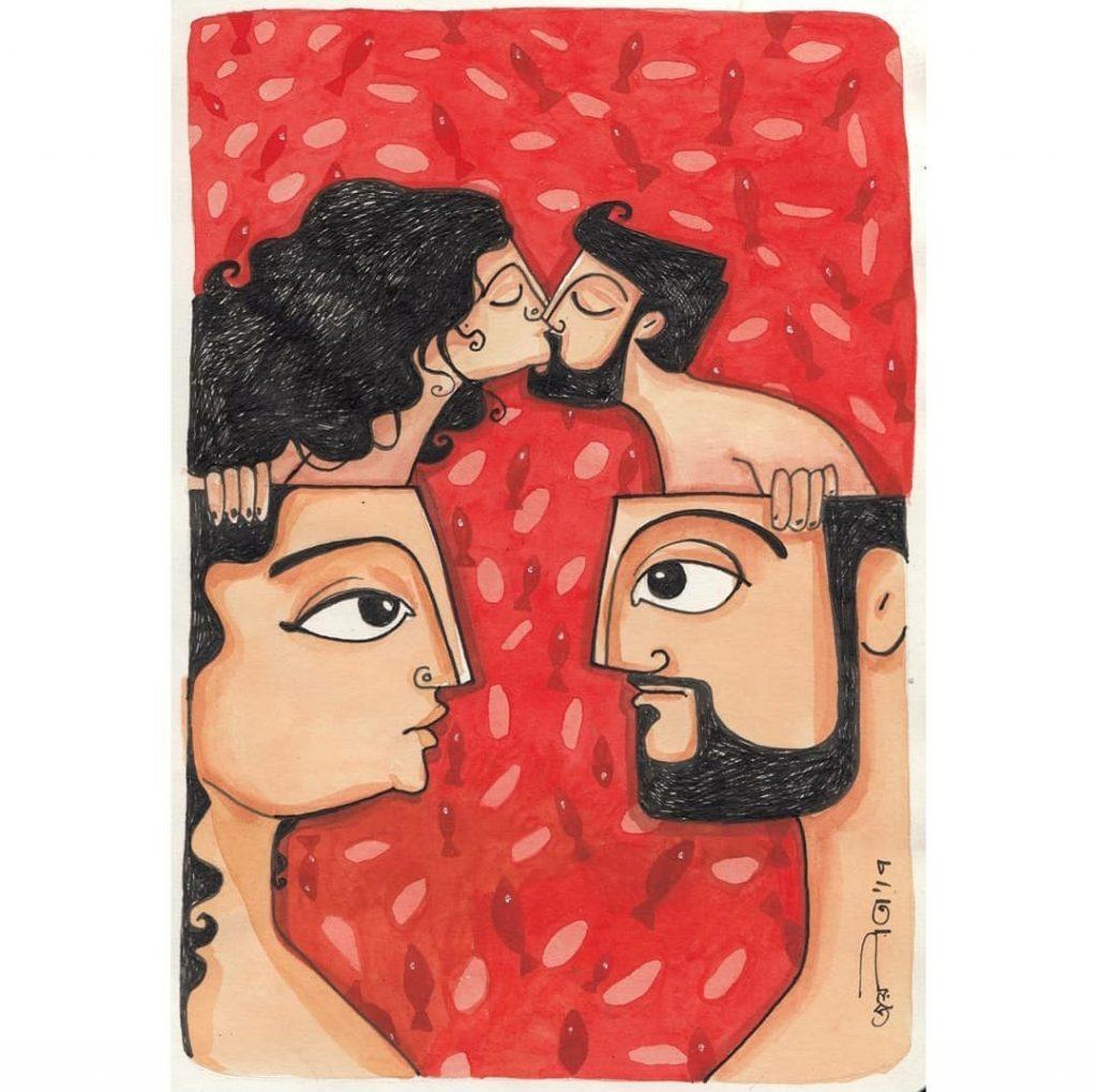 Joyeeta Bose Indian contemporary artist