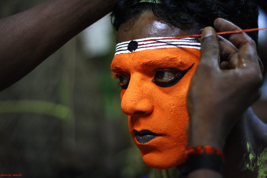 Theyyam-Folk-Art-Farm-of-Kerala