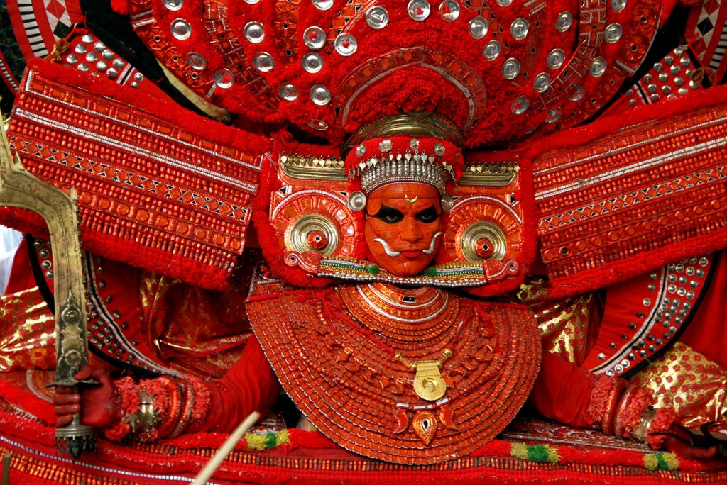Theyyam Traditional Folk Art Form of Kerala