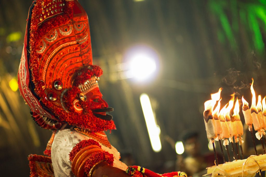 Theyyam-Folk-Art-Kerala