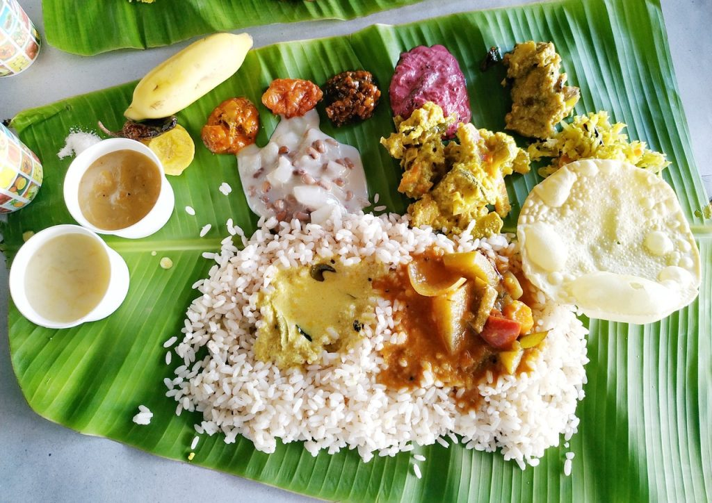 Eco-friendly Traditional Products in India banana leaf
