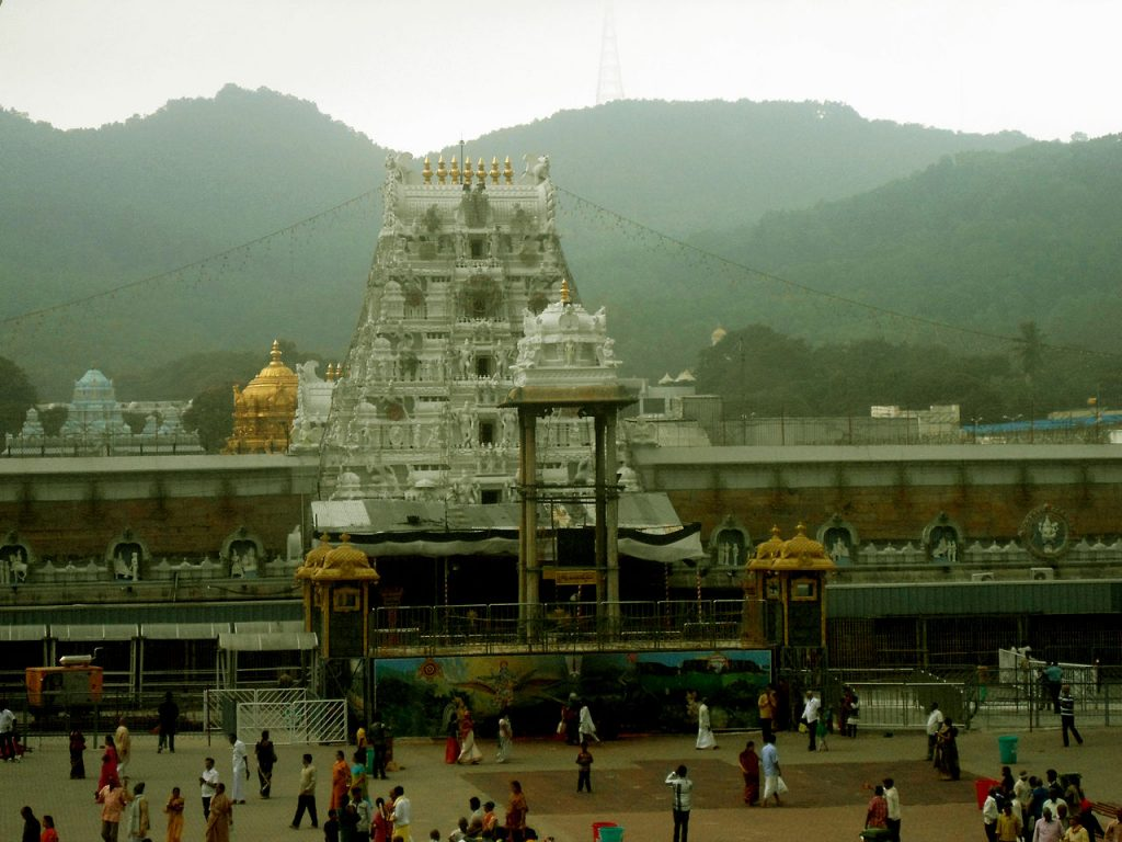 Mysterious-Temples-of-India Venkateshwara Temple, Andhra Pradesh