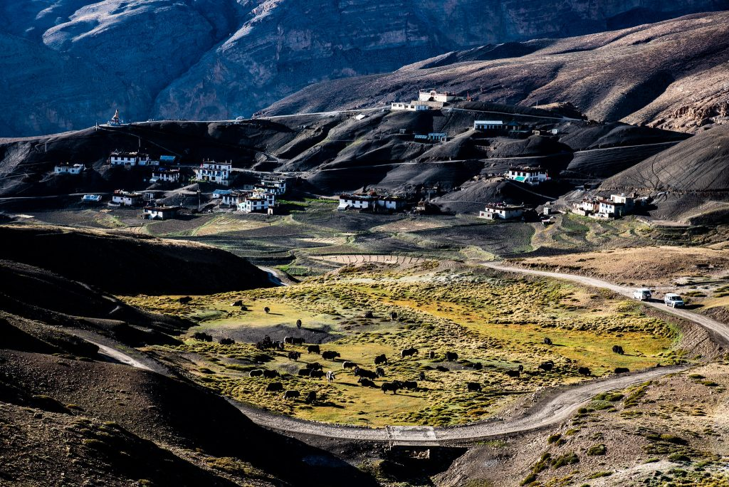 Beauty of Spiti Valley