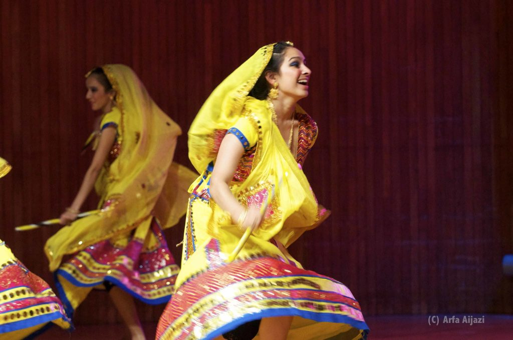 The Fun and Frolic of Garba Dance