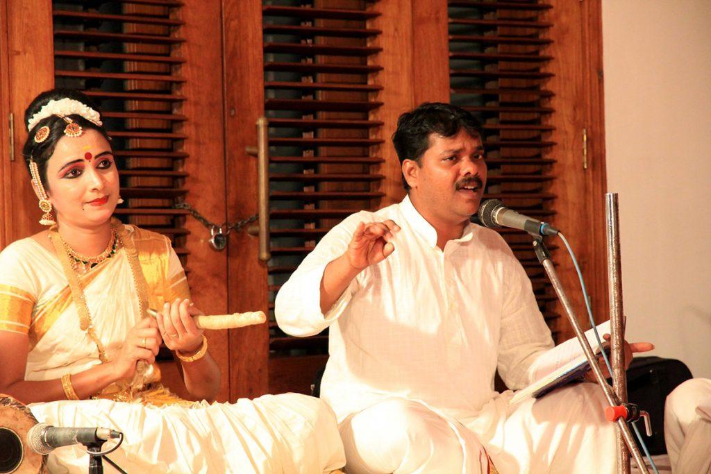 Music in Mohiniyattam Dance