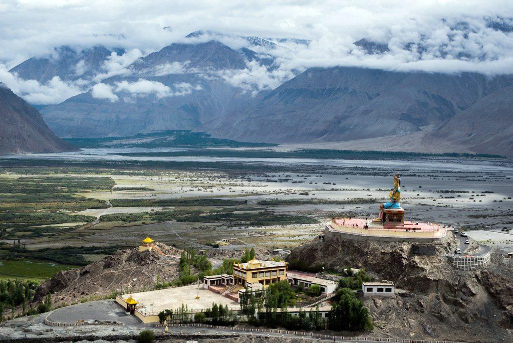 Buddhist-Monasteries-of-Leh-DISKIT MONASTERY