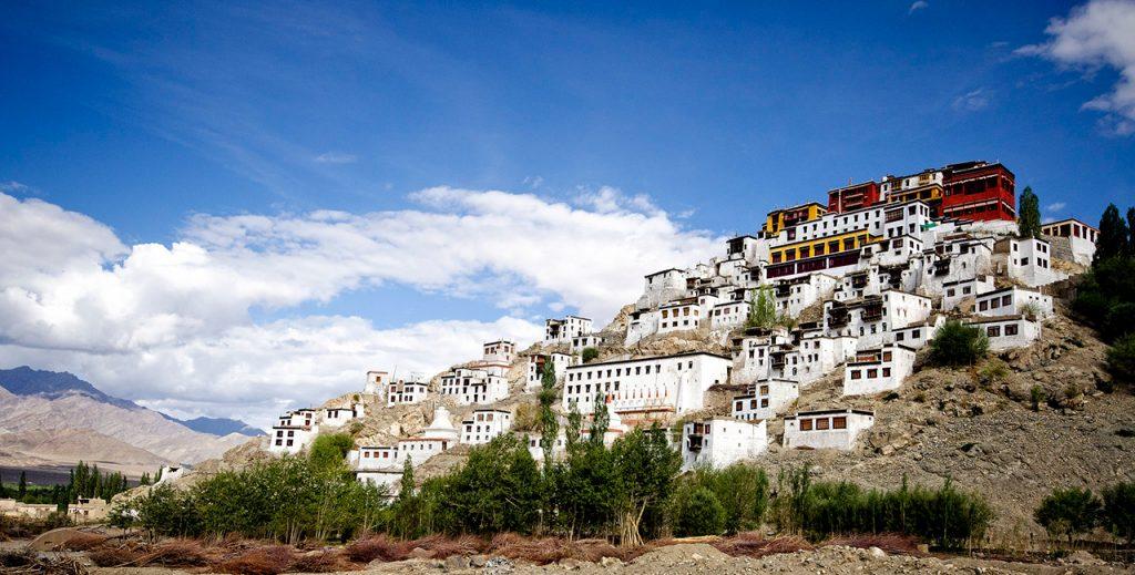 Buddhist-Monasteries-of-Leh-Thiksey-Monastery