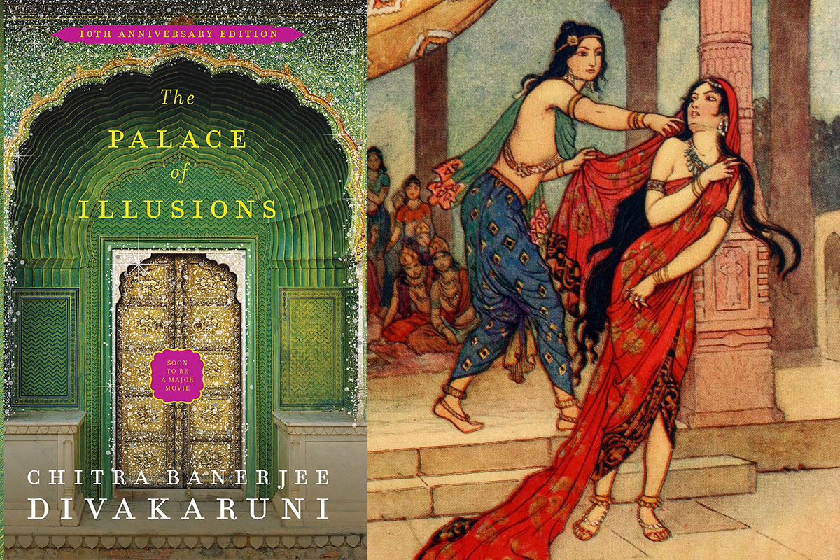 Chitra-Banerjee-Divakaruni's-The-Palace-of-Illusions
