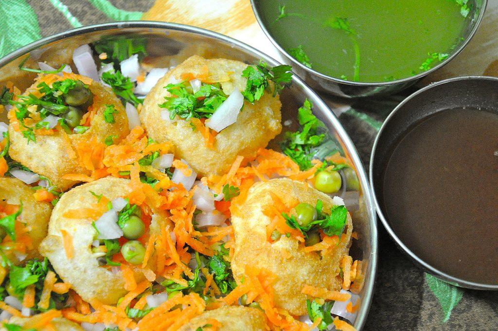 National-Dish-of-India-Khichdi-Panipuri