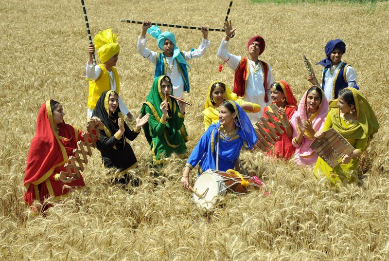 Celebration-of-New-Year-in-Various-Cultures-of-India-Baishakhi_festival