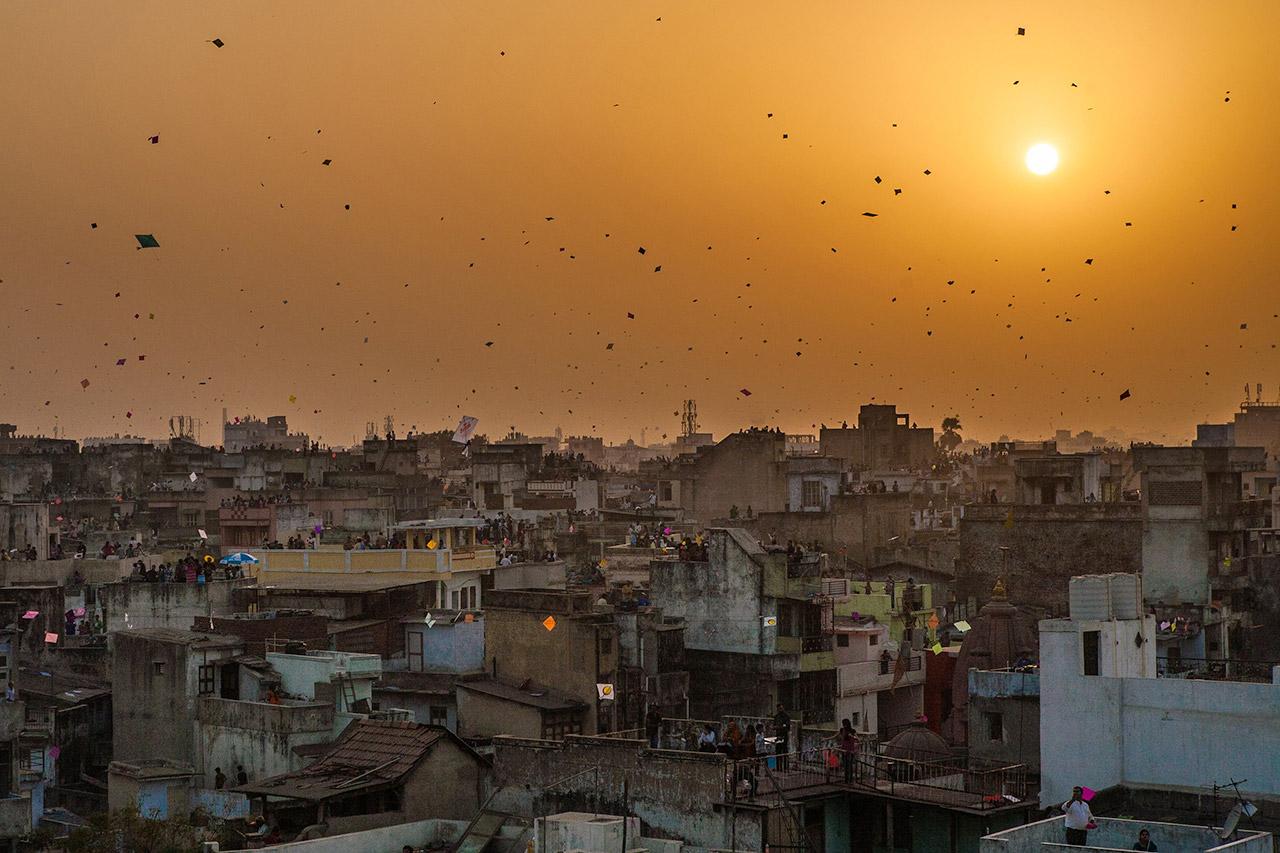 Ahmedabad-during-Makar-Sankranti