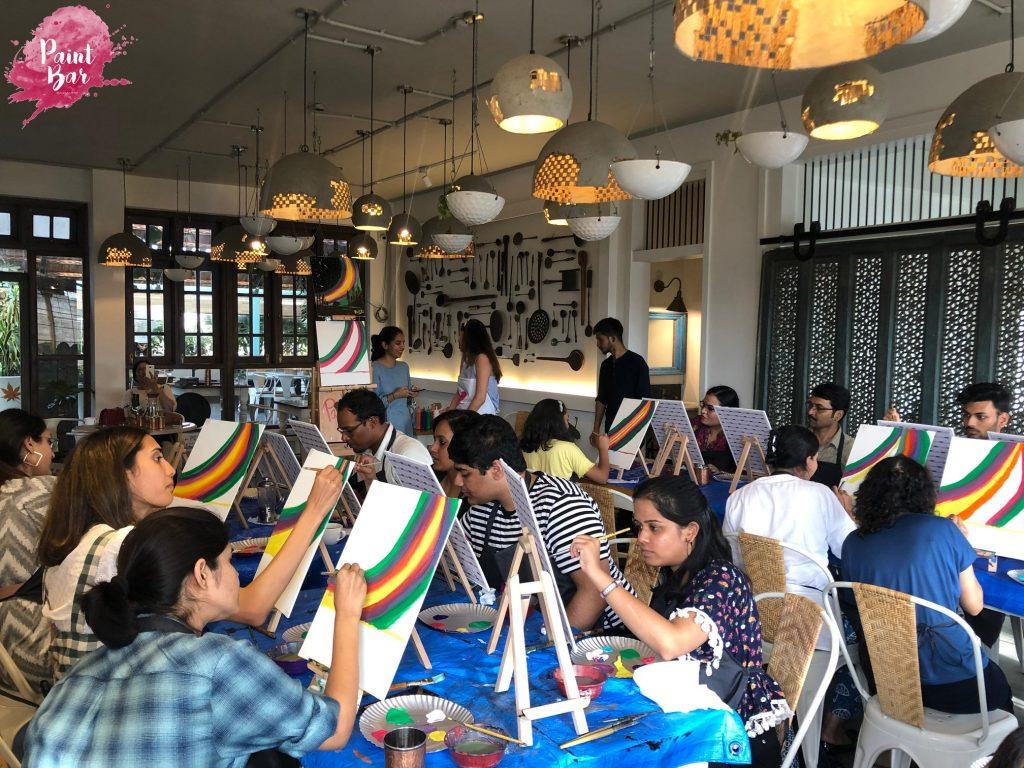Paint Bar Bangalore