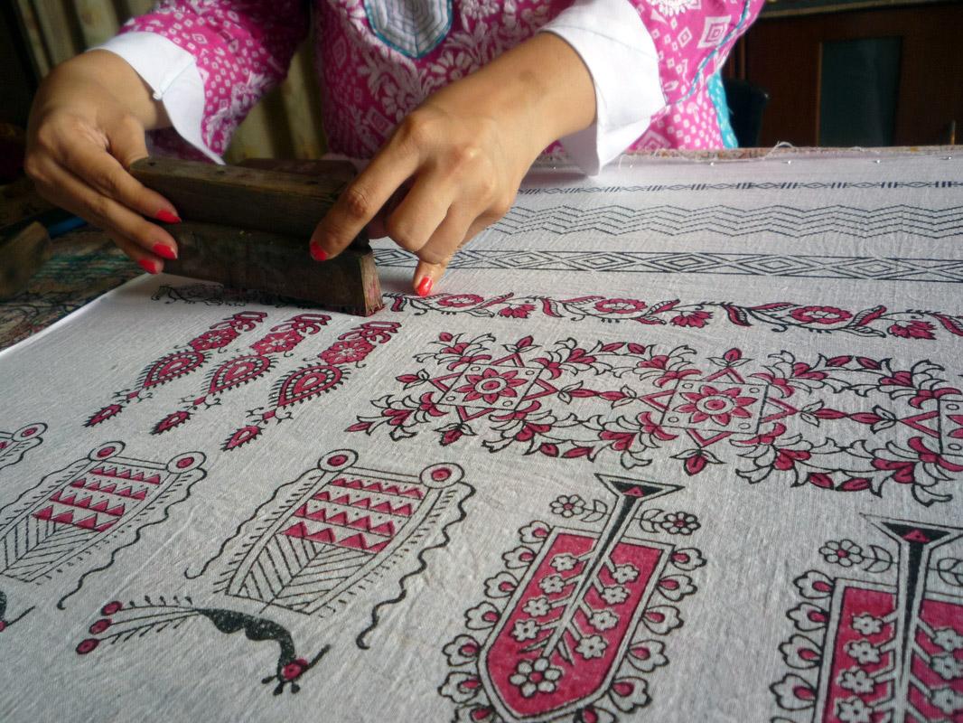 Blocks & Prints - Meenakari Arts