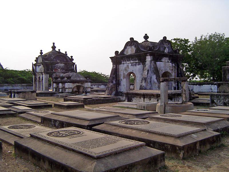Dutch cemetery in Pulicat