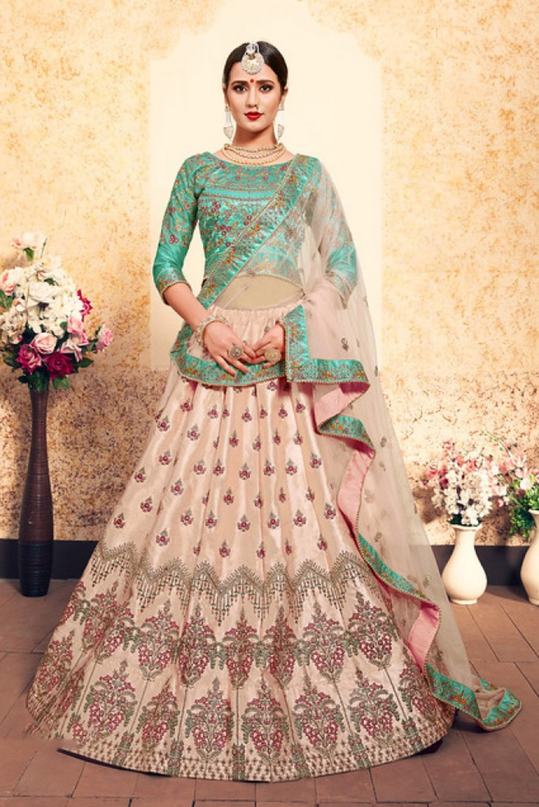 Lehenga-Designs-to-Wear-to-a-Traditional-Event-Circular-Lehenga