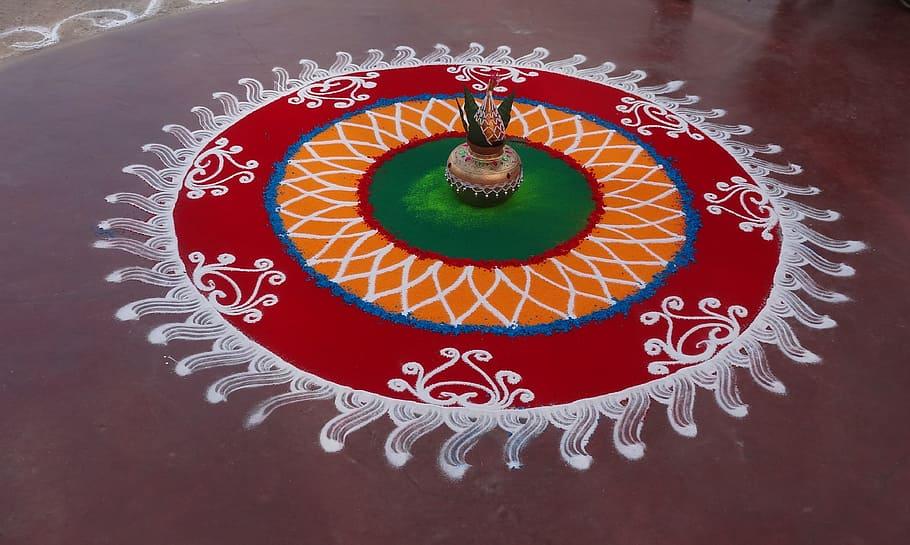 Art of Rangoli