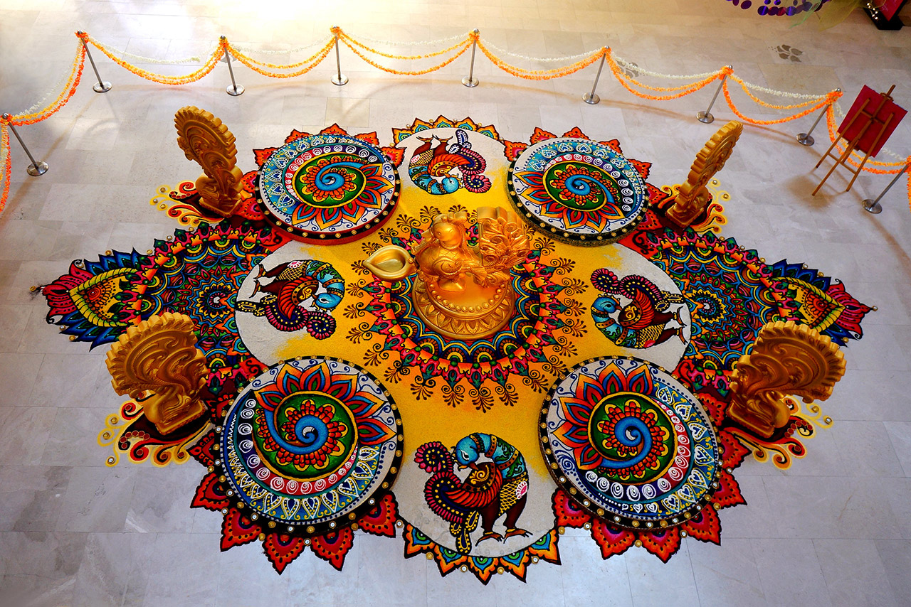 Indian Rangoli Art