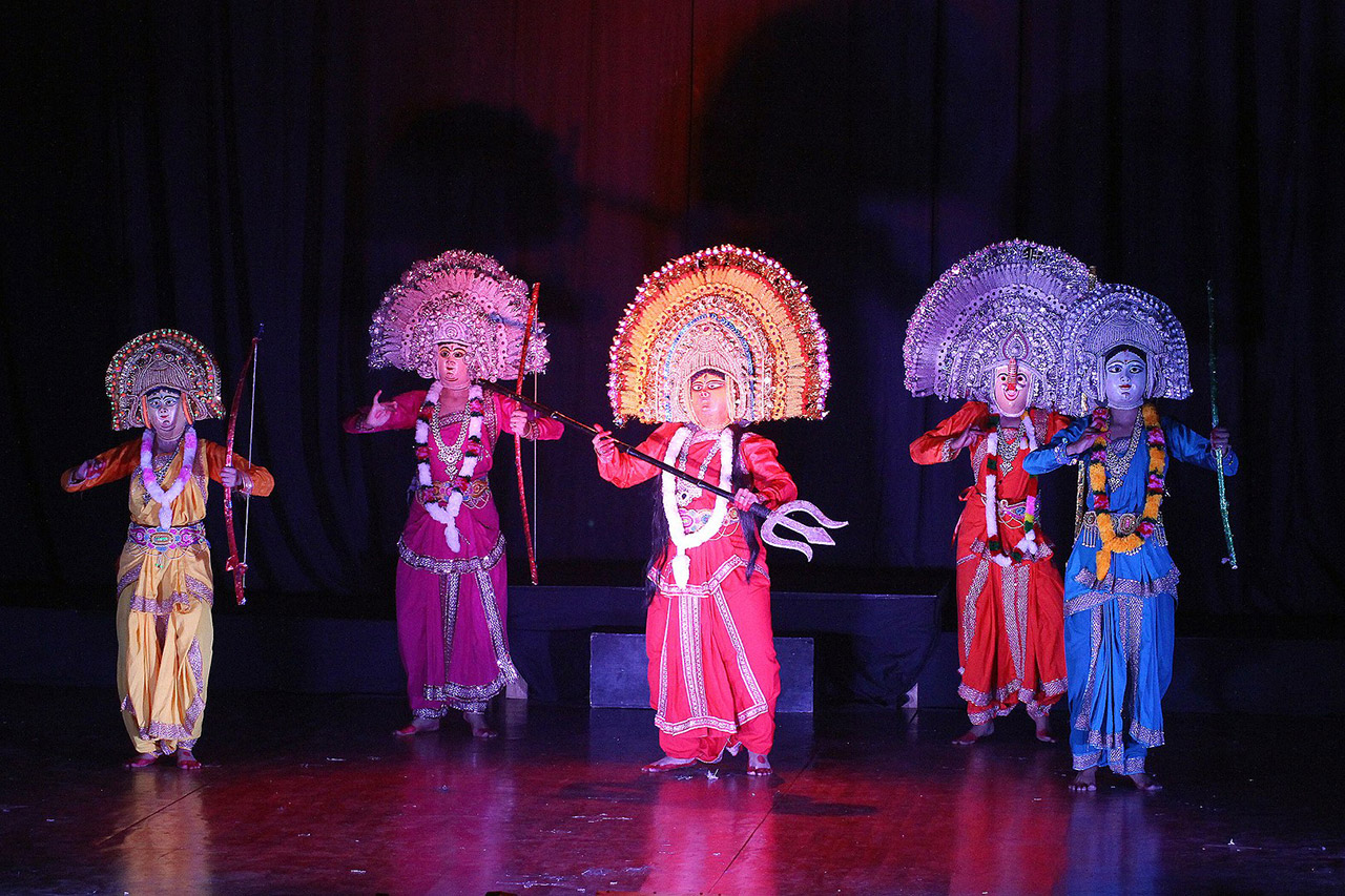 Folk-Dance-Forms-of-North-India-Chhau_dance-Odisha-Jharkhand