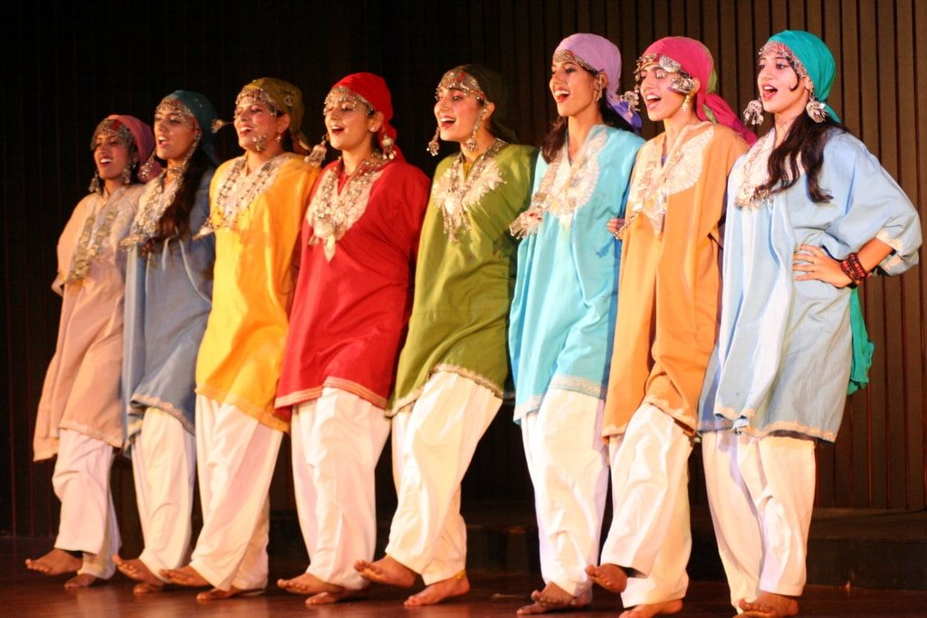 Folk Dance Forms of North India Jammu and Kashmir Dumhal