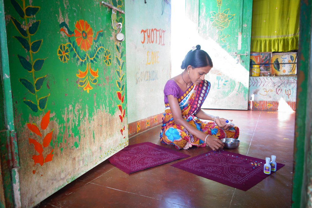 A-collaboration-of-British-Council-in-India Kutch handicrafts