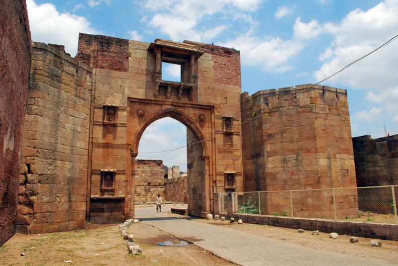 Champaner-citadel-gate