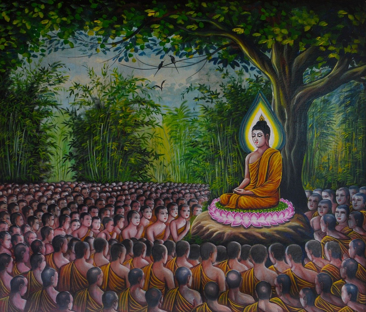 The-Depiction-of-Animals-&-Birds-in-Buddhism